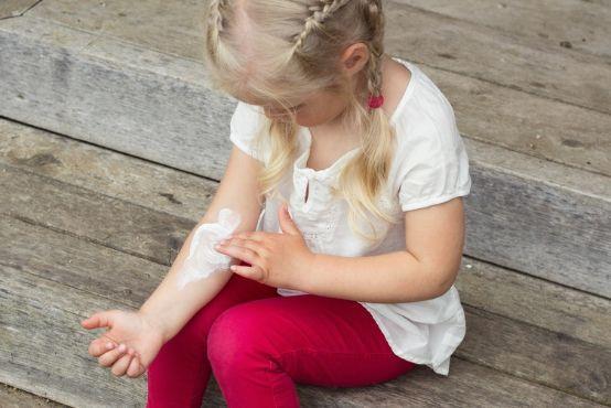 Jak pečovat o atopickou pokožku dětí