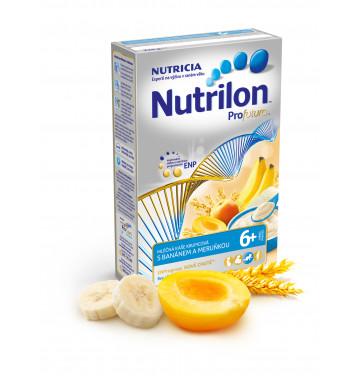 Nutrilon Profutura kaše krupicová s banánem a meruňkou