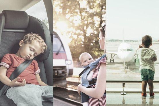 Auto, vlak, letadlo? Čím na dovolenou sdětmi?