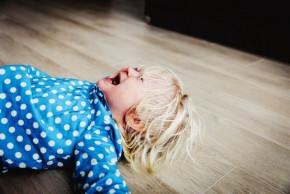 Záchvaty vzteku u dětí: odkud se berou a proč?