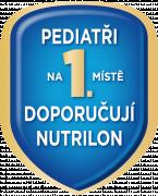 Pediatři na 1. místě doporučují Nutrilon*