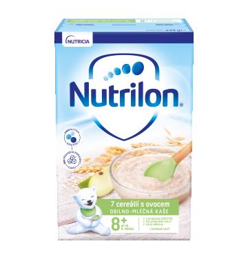 Nutrilon Pronutra Obilno-mléčná kaše 7 cereálií s ovocem