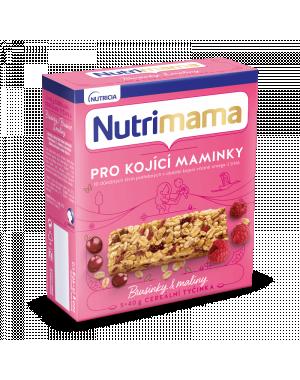 Nutrimama cereální tyčinky - brusinky a maliny