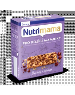 Nutrimama cereální tyčinky - brusinky a čokoláda