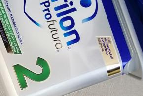 Jak jsme testovali mlíčko Nutrilon Profutura 2