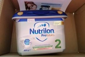 Testování pokračovací výživy Nutrilon Profutura 2