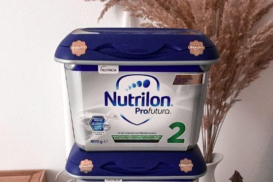 Naše začátky s mlékem Nutrilon Profutura 💙
