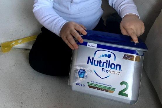 Naše testovanie Nutrilon Profutura 2