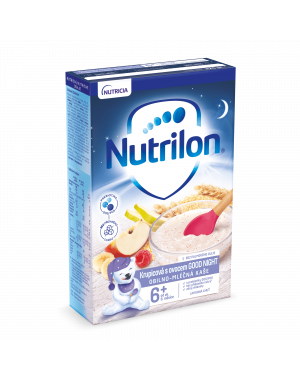 Nutrilon Pronutra Obilno-mléčná kaše  Krupicová sovocem GOOD NIGHT