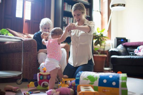 Cvičení s dětmi 1–1,5 roku