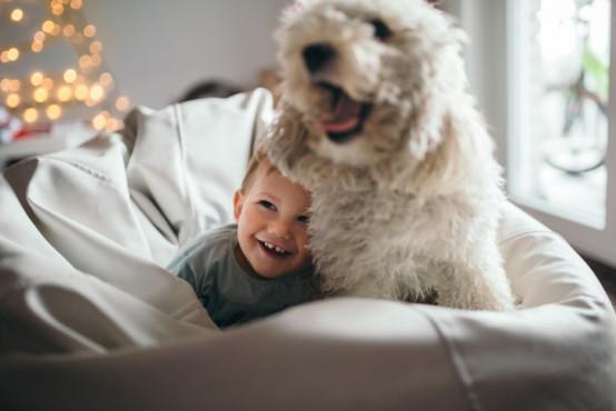 Dítě a pes: mají batolata žijící se zvířaty méně alergií?