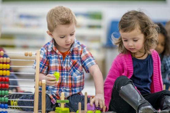 První přátelské vztahy mezi dětmi