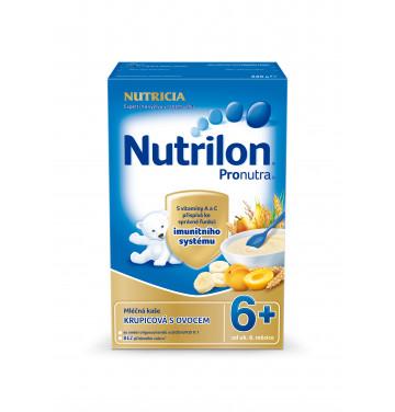 Nutrilon obilno-mléčná kaše krupicová s ovocem