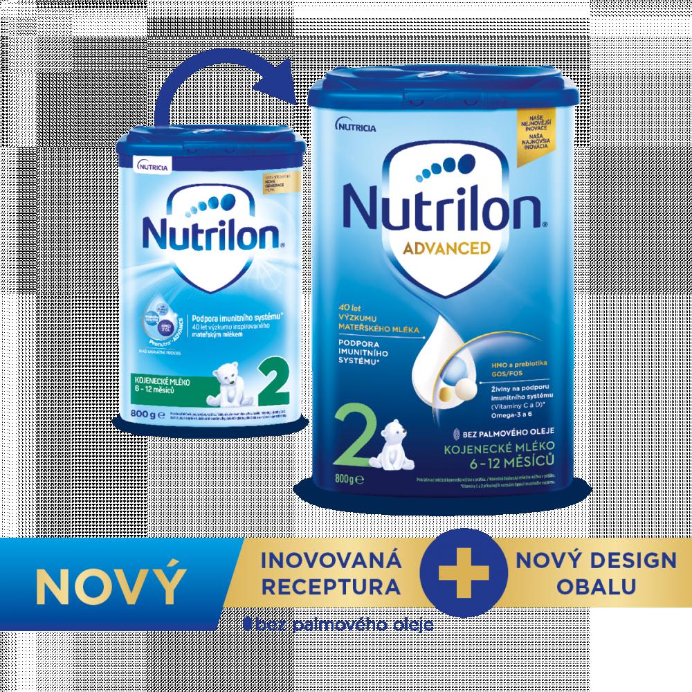 Nové balení Nutrilon 2 Advance